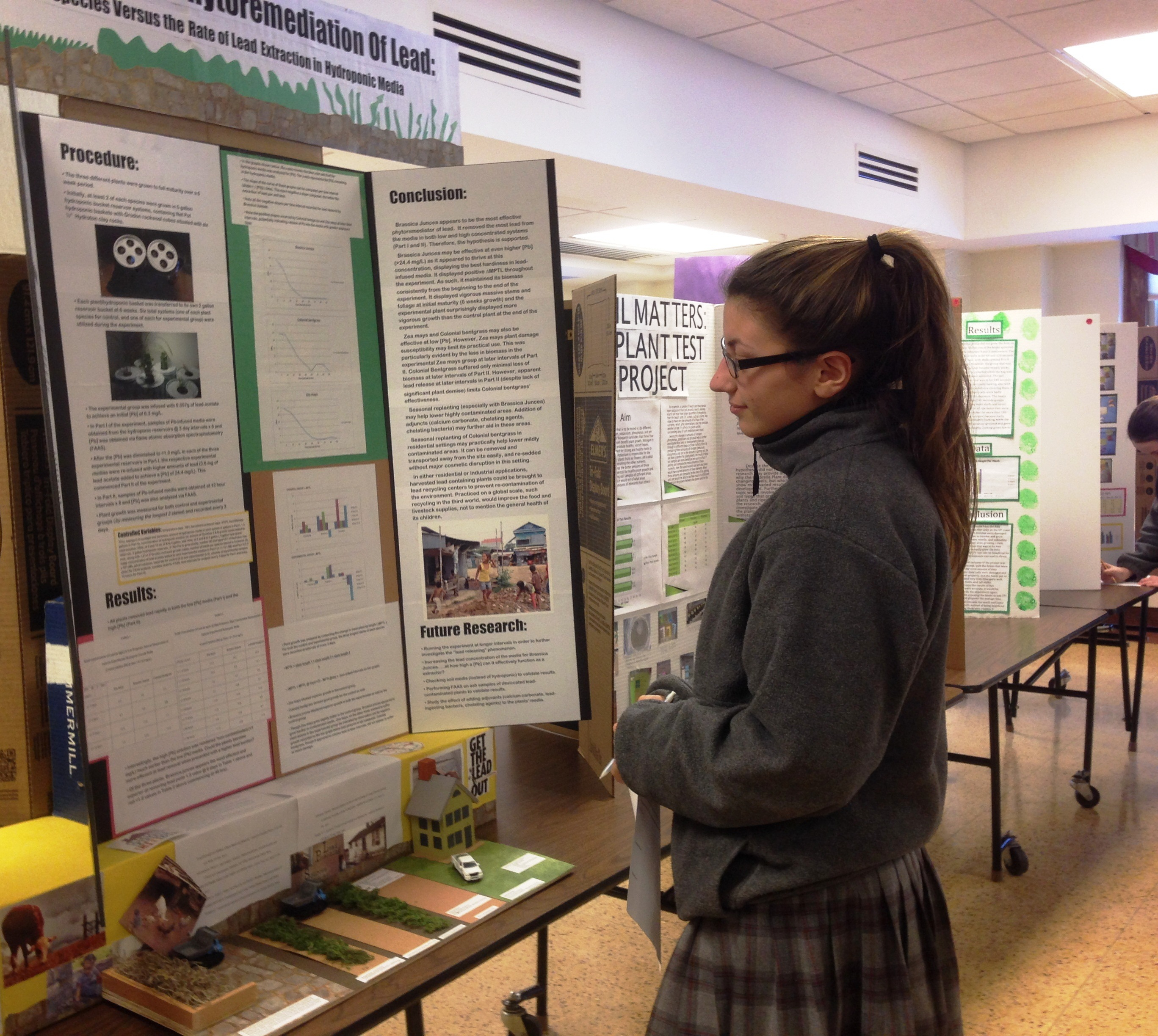 visit to a science fair Bergen science challenge is a middle science fair winners of this science fair are eligible to apply to the broadcom masters.